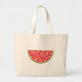 Watermelon Watermelons Fruit Sweet Health Fresh Jumbo Tote Bag