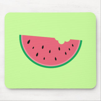 Watermelon Watermelons Fruit Sweet Health Fresh Mouse Mat