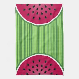 Watermelon Wedgies Tea Towel