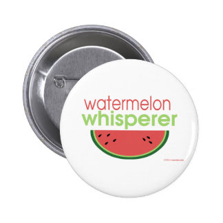 Watermelon Whisperer 6 Cm Round Badge