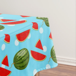 Watermelon With Slice Tablecloth