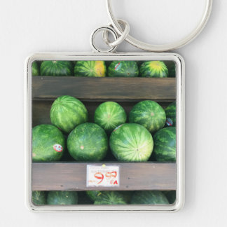 Watermelons for Sale Corner Bodega NYC Photograph Key Ring