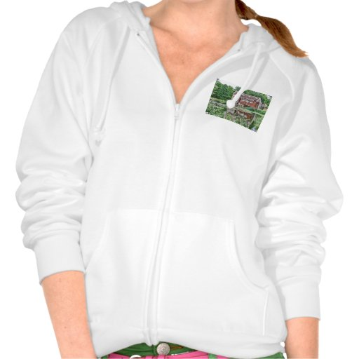 watermill hooded pullover