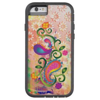 Waterproof Pastel Paisley Floral Tough Xtreme iPhone 6 Case