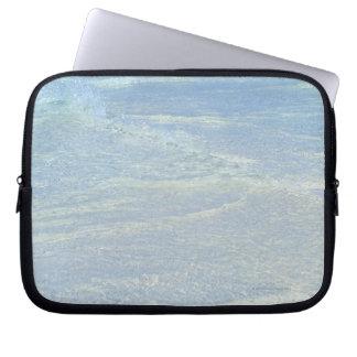 Water's edge 2 laptop sleeve
