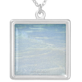 Water's edge 2 silver plated necklace