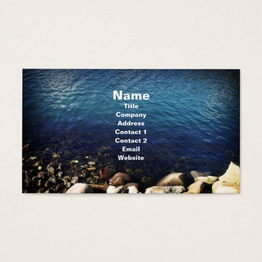 Waters Edge, business card template