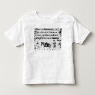 Waterseller,illustration from 'Luttrell Psalter' Toddler T-Shirt