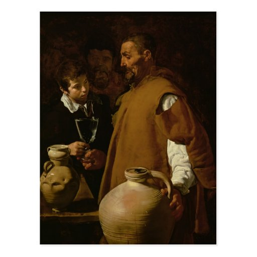 Waterseller of Seville, c.1620 Postcards