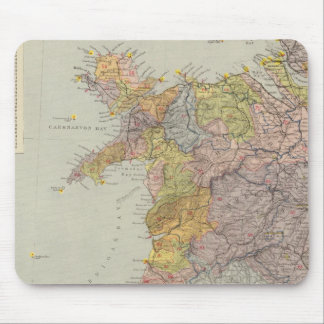 Watershed map England, Wales 3 Mouse Mat