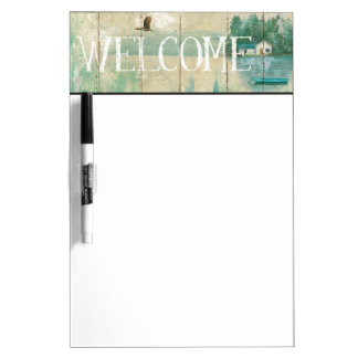 Waterside Lodge Dry Erase Board