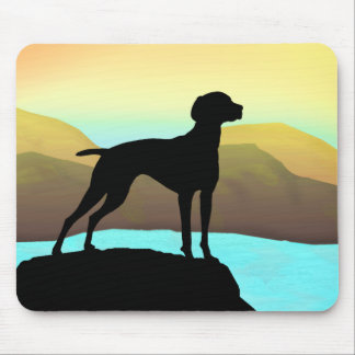 Waterside Vizsla t-shirts, apparel & gift Mouse Pad