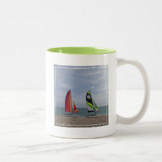 Watersports | Cayo Santa Maria, Cuba Two-Tone Coffee Mug