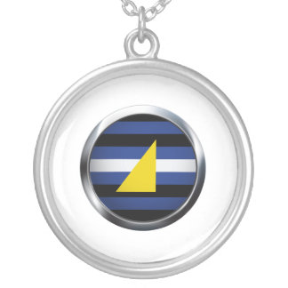 WATERSPORTS PRIDE MEDALLION PERSONALIZED NECKLACE