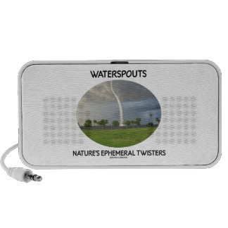 Waterspouts Nature's Ephemeral Twisters Mp3 Speakers