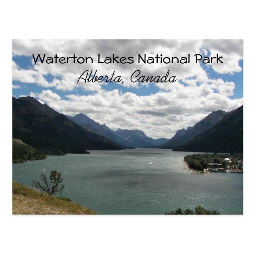 Waterton Lakes Post Card