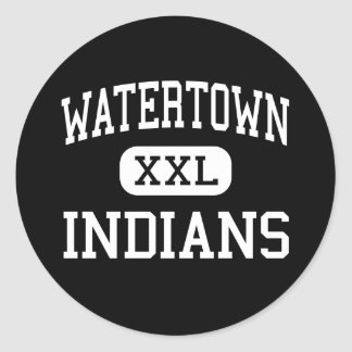 Watertown - Indians - High - Watertown Connecticut Stickers