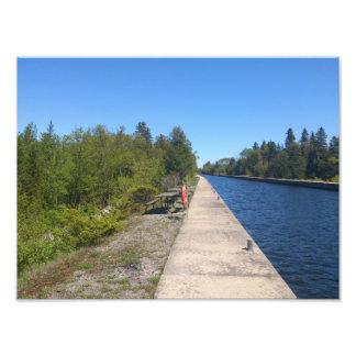 Waterway Art Photo