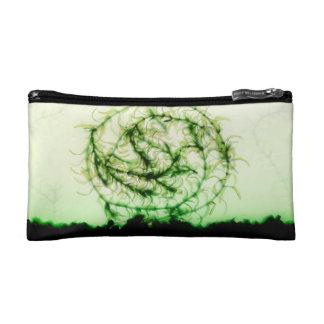 Waterweed circle cosmetics bags