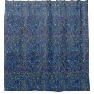 Watery Patterns Shower Curtain