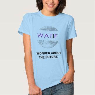 "WATiFlogo 4, ""WONDER ABOUT THE FUTURE"" Tshirt"