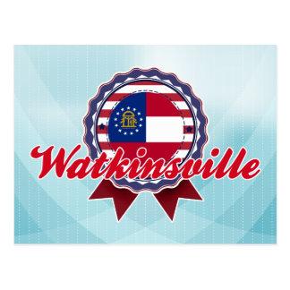 Watkinsville, GA Postcard
