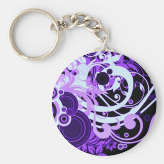 Wats?YourStyle Basic Round Button Key Ring