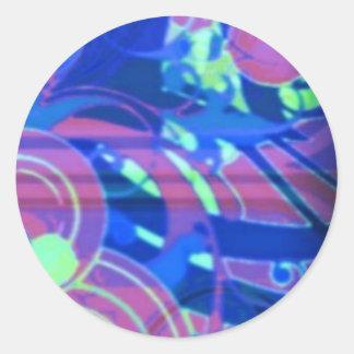 Wats?YourStyle Round Sticker