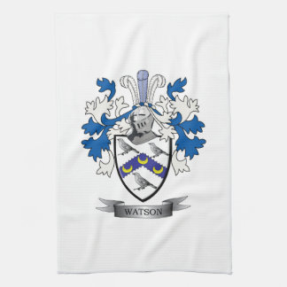 Watson Coat of Arms Tea Towel