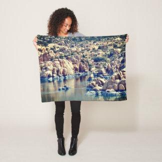 Watson Lake Fleece Blanket