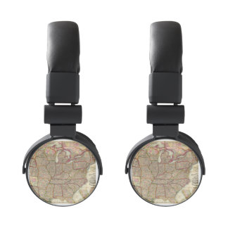 Watson's New County and Railroad Map 2 Headphones
