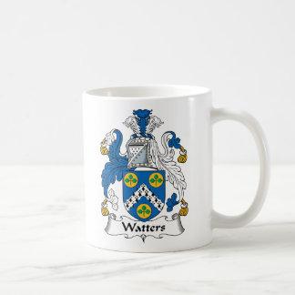 Watters Family Crest Basic White Mug