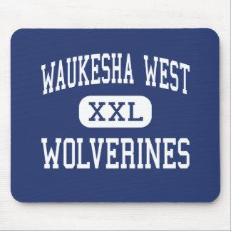 Waukesha West - Wolverines - High - Waukesha Mouse Pads