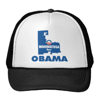 Wauwatosa for Obama Trucker Hat