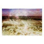 Wave Abstract Poster
