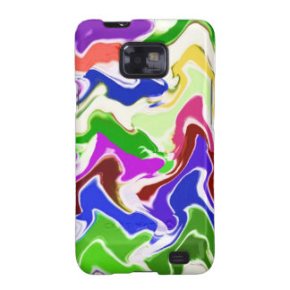 Wave Artistic Sensual TEMPLATE easy add TEXT IMAGE Galaxy SII Covers