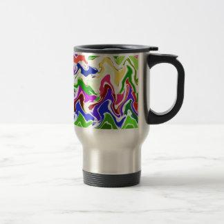 Wave Artistic Sensual TEMPLATE easy add TEXT IMAGE Mug