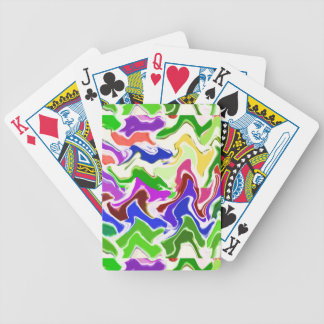 Wave Artistic Sensual TEMPLATE easy add TEXT IMAGE Bicycle Poker Deck