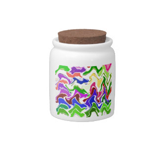 Wave Artistic Sensual TEMPLATE easy add TEXT IMAGE Candy Jars