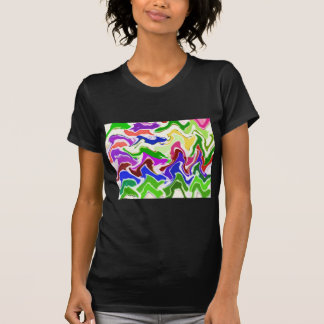 Wave Artistic Sensual TEMPLATE easy add TEXT IMAGE Shirt