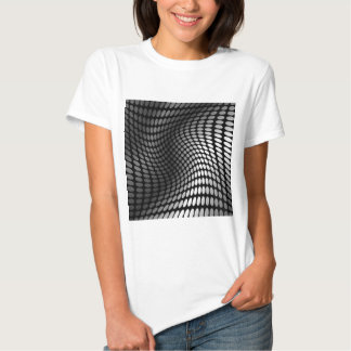 wave background t shirt