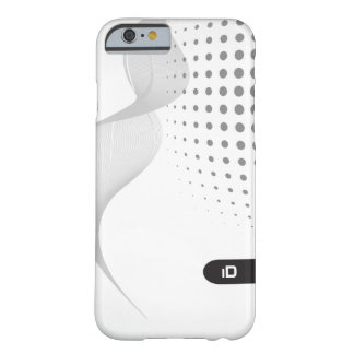 WAVE | black and white pattern with initials Barely There iPhone 6 Case