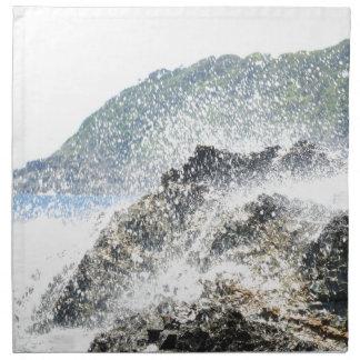 Wave break napkin