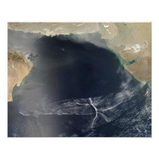 Wave clouds over the Arabian Sea Photo Print