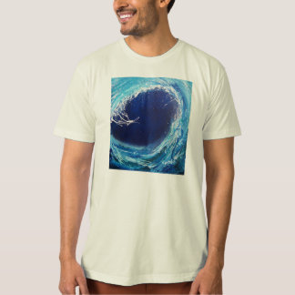Wave Curl organic t-shirt