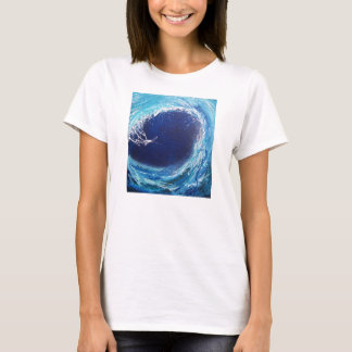 Wave Curl Women's Hanes ComfortSoft® T-Shirt