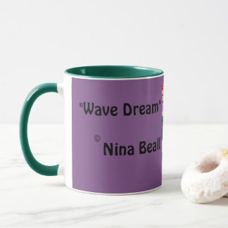 Wave Dream Mug by Nina Beall