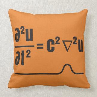 wave equation cushion