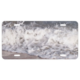 Wave Lapping at Beach