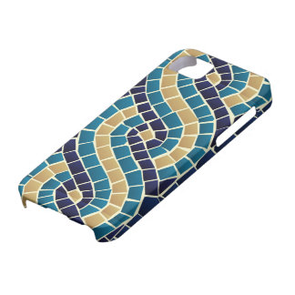 Wave Mosaic Pattern Case For The iPhone 5